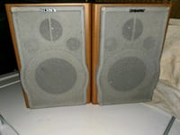 two gray-and-brown speakers Overland Park, 66210