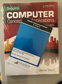 Computer concepts& Application with Microsoft's of Toronto, M9A 4Y3