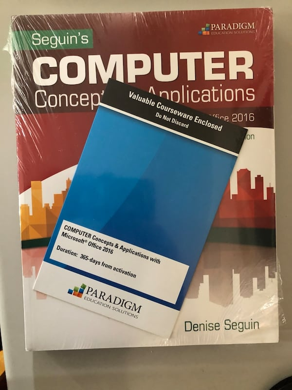 Computer concepts& Application with Microsoft's of 4c9aa5a4-3cb3-4087-bd13-1793ea31385c