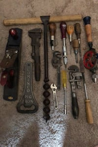 Antique/vintage tools. Calgary, T2Y