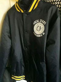 black and yellow Pittsburgh Steelers jacket