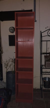 Red and yellow bookcases San Diego, 92110
