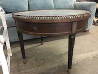 Antique table marble top gallery rim Commerce, 90040