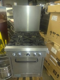 stainless steel gas range oven San Antonio, 78217