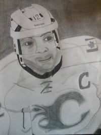 NHL Sketch Art.Unique and Original! Lindsay