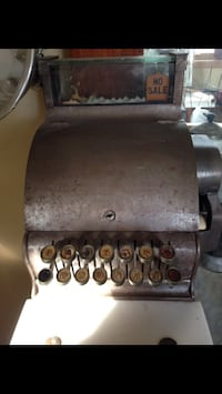 Old Cash register from my grandpa's barbershop Mishawaka, 46544