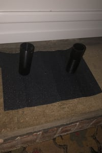 Scooter and skateboard grip tape with two black bike pegs Essington, 19029