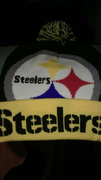 white and blue Pittsburgh Steelers beanie Burlington, L7L 7M1