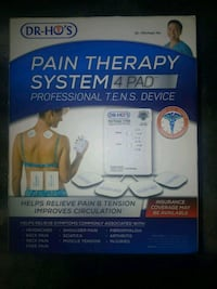 Dr Ho Pain Therapy System 4 Pad Burnaby, V5A 4G5
