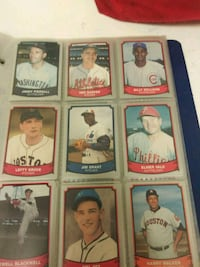 nine assorted baseball trading cards Camp Hill, 17011