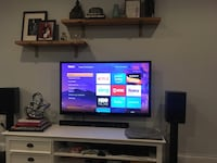 Samsung 50 Inch Plasma HD TV + ROKU Express + Samsung Sound Bar with Wireless Subwoofer Washington, 20002