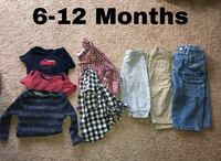 6-12 month clothes Stephenson, 22656