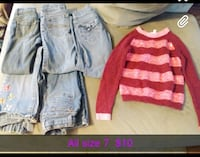 Size 7 girl clothes  Inwood, 25428