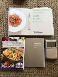 Official Weight Watchers program + calculator + food points and dining out book (worth over $150) Vancouver, V5Z 1C4