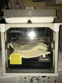 White and black electric coil range oven Grovetown, 30813