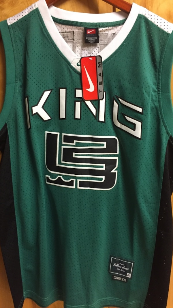 the best attitude 44431 2368c King james jersey (large)