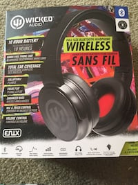 Brand new Wicked Audio wireless headphones Langley, V2Z 1K2