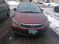 2012 Honda Civic Kitchener