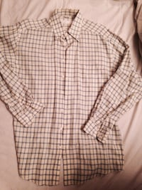 white and black plaid dress shirt Charlotte, 28209