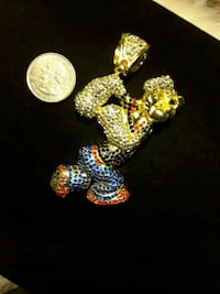 New Hip Hop Iced-Out Popeye Pendent Ladson, 29456