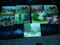 Paintings by variety of artist Cedar Rapids, 52402