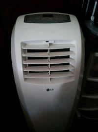 white LG portable air cooler Vallejo, 94590