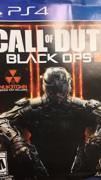 PS4 Call of Duty Black Ops . Good condition Surrey, V3S 7B8