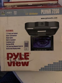 """Car tv monitor 7.5"""" screen. Has never used still in the box!!!!"""
