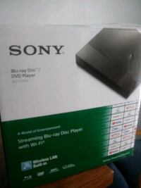 Sony Dvd player with built in Wi Fi