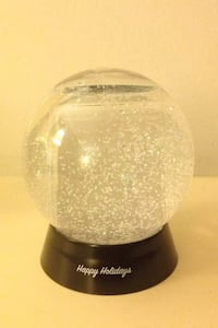 Customizable snow globe