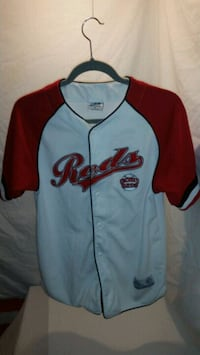 Dynasty Brand White Cincy Reds Shirt Size: L  Crestview Hills, 41017