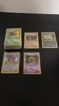 Assorted old pokemon trading cards 523 km