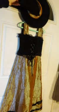 Girl's Witch Costume - Size 8-10 - Hem Fray Rochester Hills