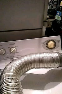 GE white electric dryer, good condition