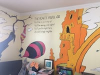 Hand painted mural Collingswood