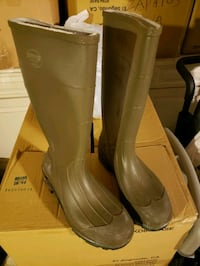 pair of brown leather boots Salinas