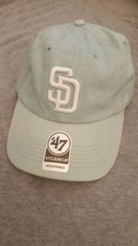 NEW San Diego Clean Up cap/dad hat. Light Blue. Spring Valley, 91977