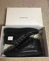 Black Balenciaga arena with box Richmond Hill, L4S