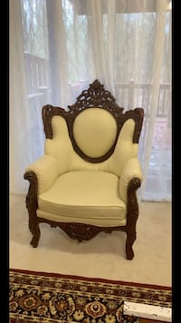 Beautiful Hand Carved Chair Springfield, 22153