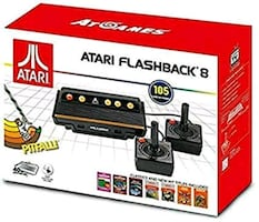 Atari flashback 8 game system and controller