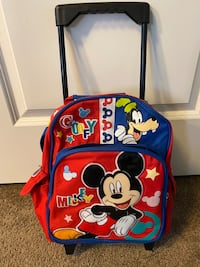 Mickey Mouse Rolling Backpack