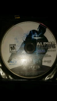 Alpha prototype PS3 game disc Winnipeg, R2W 2G2