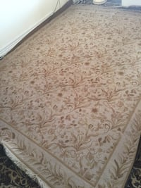 All over floral pattern handmade area rug