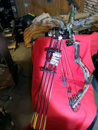 red and black compound bow Calgary, T2B 2J6