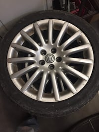 """Vw 17"""" anniversary rims and tires"""