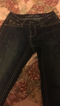 INC Brand ladies flared jeans size 4 Olive Branch, 38654