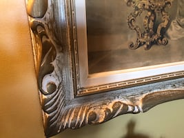 Victorian picture image  frame