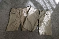 Girls uniform shorts