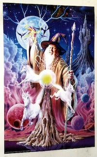 WIZARD POSTER FROM 1997 Toronto