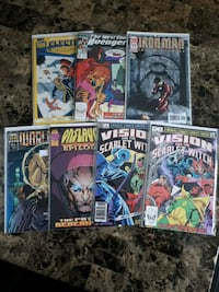 7 comic book lot Brampton, L7A 2R8
